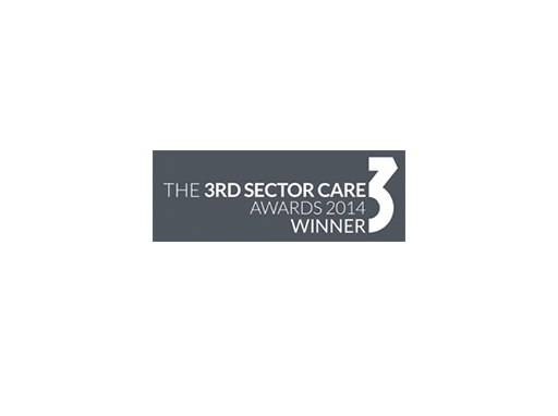 2014 – Third Sector Care Awards Winner
