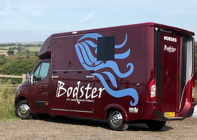 Lottery funded horse box. The People's Projects winners prize