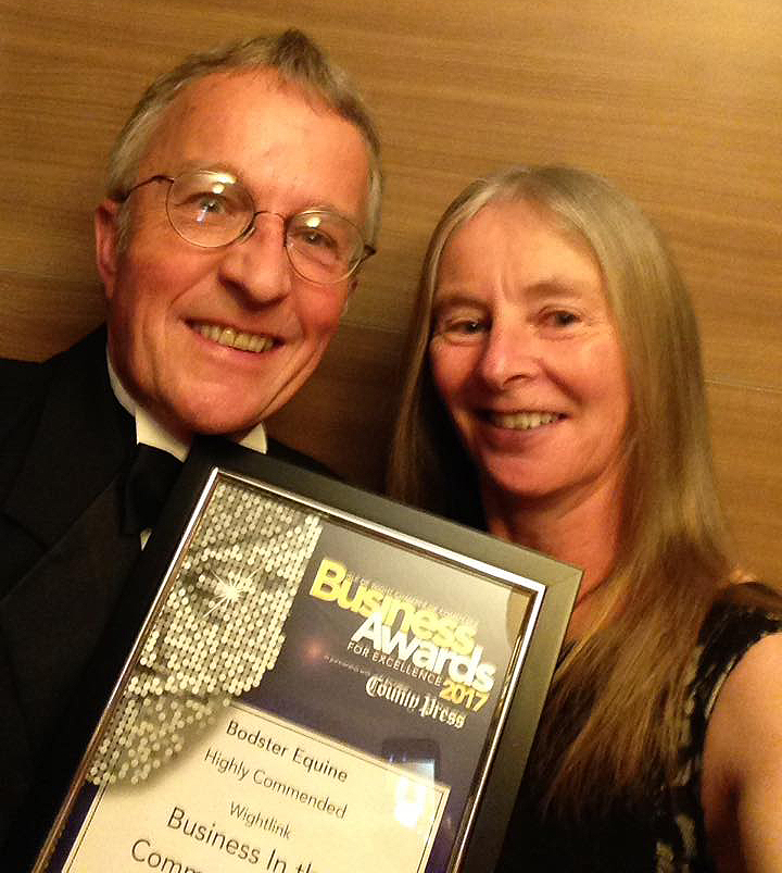Bodster, Highly Commended in the Wightlink Business in the Community Award